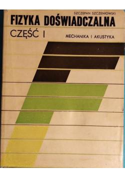 Fizyka doświadczalna Mechanika i Akustyka Część 1