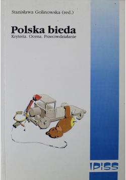 Polska bieda Kryteria Ocena Przeciwdziałanie