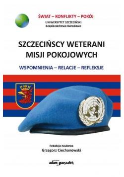 Szczecińscy wetarani misji pokojowych