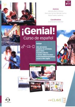 Genial! B1.1 Podręcznik + ćwiczenia + dodatek gramatyczny