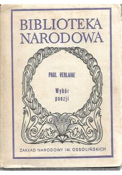 Paul Verlaine wybór poezji