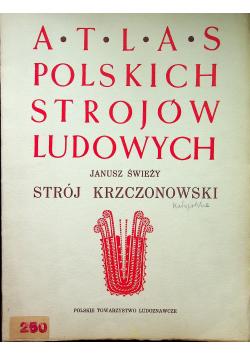 Atlas polskich strojów ludowych, strój krzczonowski