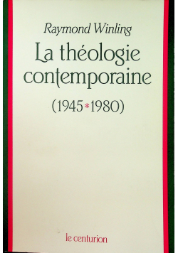 La teologie contemporaine