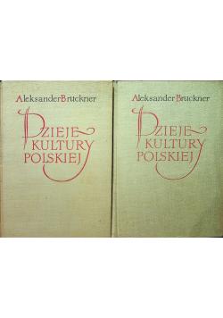 Dzieje kultury polskiej Tom I i III