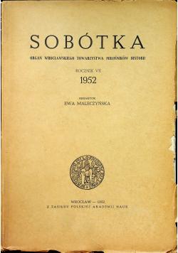 Sobótka Rocznik VII 1952