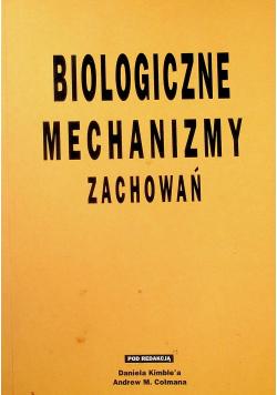 Biologiczne mechanizmy zachowań