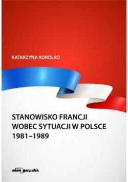 Stanowisko Francji wobec sytuacji w Polsce...