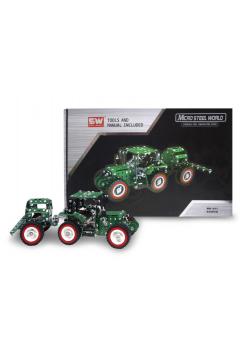 Traktor z przyczepą metal do skręcania 635 el.