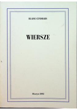 Cendrars wiersze