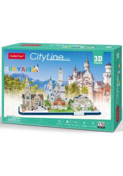 Puzzle 3D Cityline Bawaria
