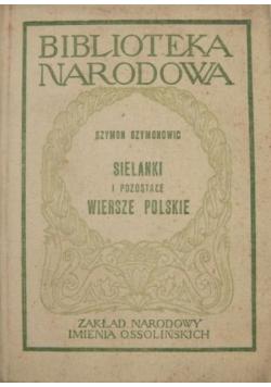 Sielanki i pozostałe wiersze polskie