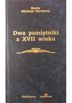 Dwa pamiętniki z XVII wieku