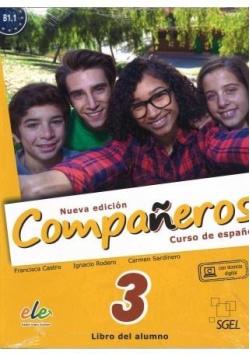 Companeros 3 podręcznik + licencia digital