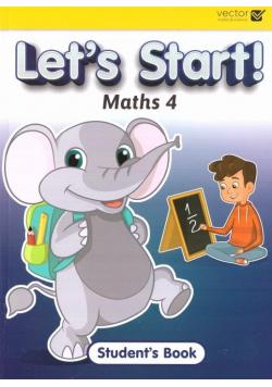 Let's Start Maths 4 SB VECTOR