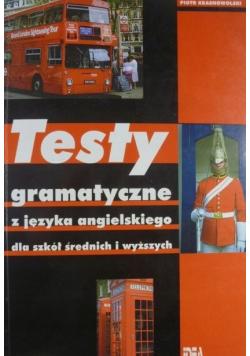 Testy gramatyczne z języka angielskiego dla szkół średnich i wyższych