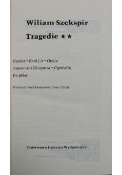 Szekspir Tragedie Tom 2