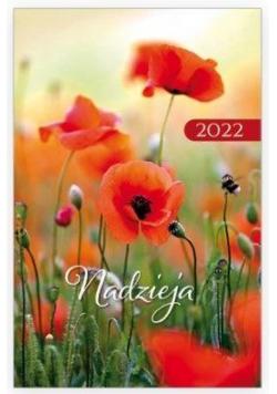Kalendarz 2022 Kieszonkowy Nadzieja - Maki