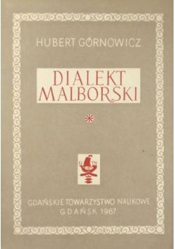 Dialekt malborski Tom I