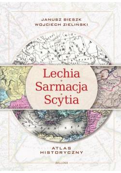 Lechia Sarmacja Scytia Atlas historyczny