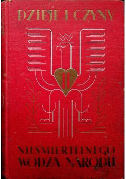 Dzieje i czyny nieśmiertelnego wodza narodu 1936 r