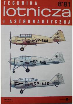 Technika lotnicza i astronomiczna Nr 8