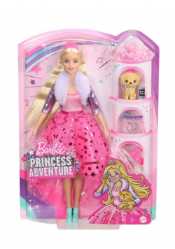 Barbie Przygody księżniczek Lalka GML76