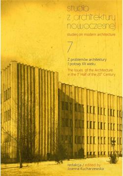 Studia z Architektury Nowoczesnej T.7