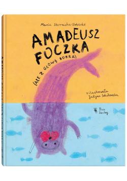 Amadeusz Foczka ale z głową bobra