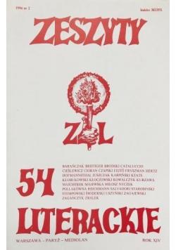Zeszyty literackie 54 2/1996