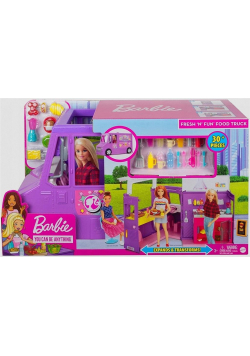 Barbie Zestaw Foodtruck