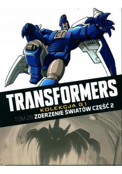 Transformers Tom 28 Zderzenie światów Część 2