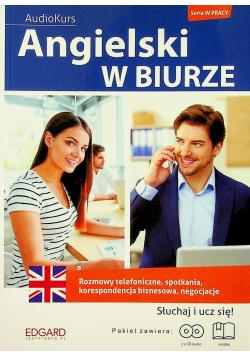 Angielski w biurze Audiokurs  + 2 płyty CD