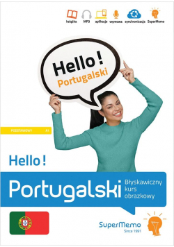 Hello! Portugalski. Błyskawiczny kurs obrazkowy A1