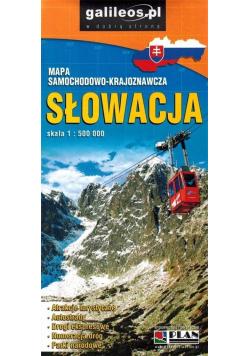 Mapa samochodowa - Słowacja 1:500 000