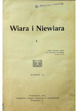 Chrystyanizm i czasy obecne  Wiara i Niewiara 1913 r.