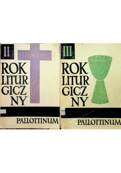 Rok liturgiczny tom II i III
