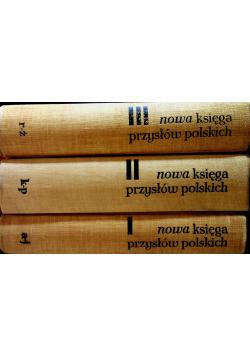 Nowa księga przysłów polskich tom od 1 do 3