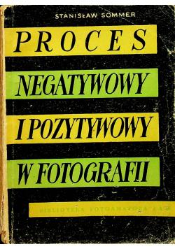 Proces negatywny i pozytywowy w fotografii