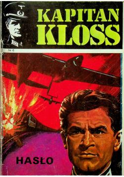 Kapitan Kloss nr 6 Hasło