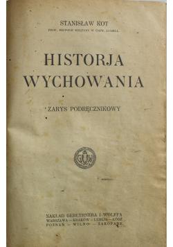 Historja wychowania 1924 r.
