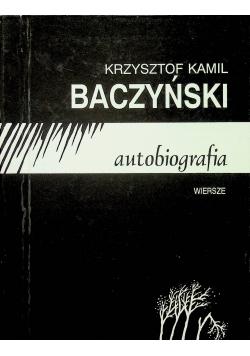 Krzysztof Kamil Baczyński autobiografia