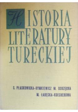 Historia literatury tureckiej
