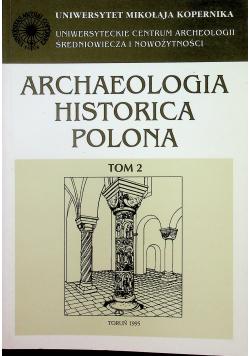 Archaeologia Historica Polona tom 2
