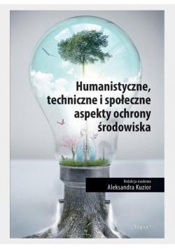 Humanistyczne, techniczne i społeczne aspekty...