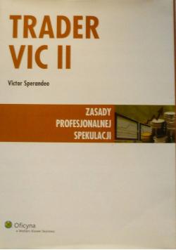 Trader VIC II Zasady profesjonalnej spekulacji