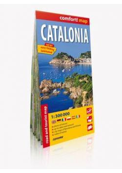 Comfort!map Katalonia 1:300000 mapa