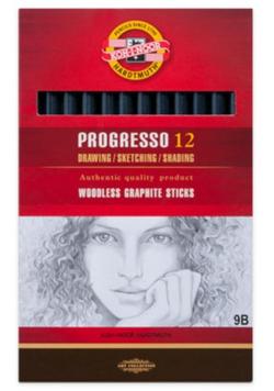 Olówek Progresso 9B (12szt)