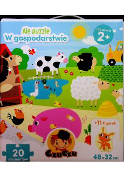 Ale puzzle W gospodarstwie