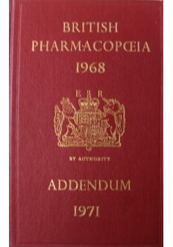 Addendum 1971 to the British Pharmacopeia 1968
