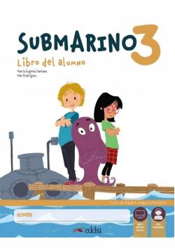 Submarino 3 Podręcznik + Zeszyt ćwiczeń + zawartość online